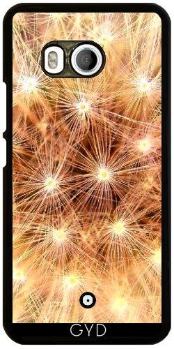 Funda para Htc U11 - Oro Brillante De Color Amarillo Blowball by Costasonlineshop