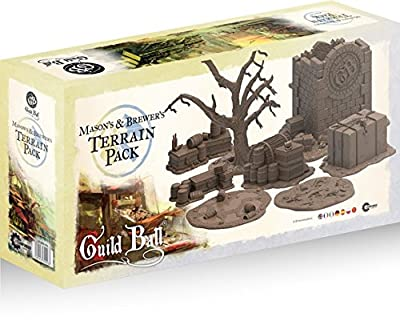 Guild Ball: Mason's & Brewer's Terrain Pack from Steamforged Games