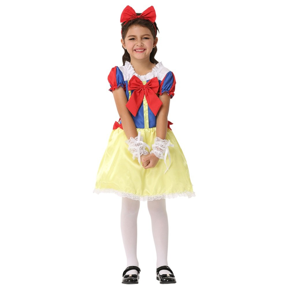 Halloween Children's Performance Clothing Deluxe Princess Party Dress Costume (Large)