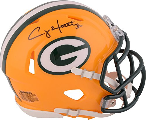 - Clay Matthews Green Bay Packers Autographed Riddell Speed Mini Helmet - Fanatics Authentic Certified