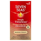 Seven Seas Simply Timeless Maximum Strength Capsules, 60-Count