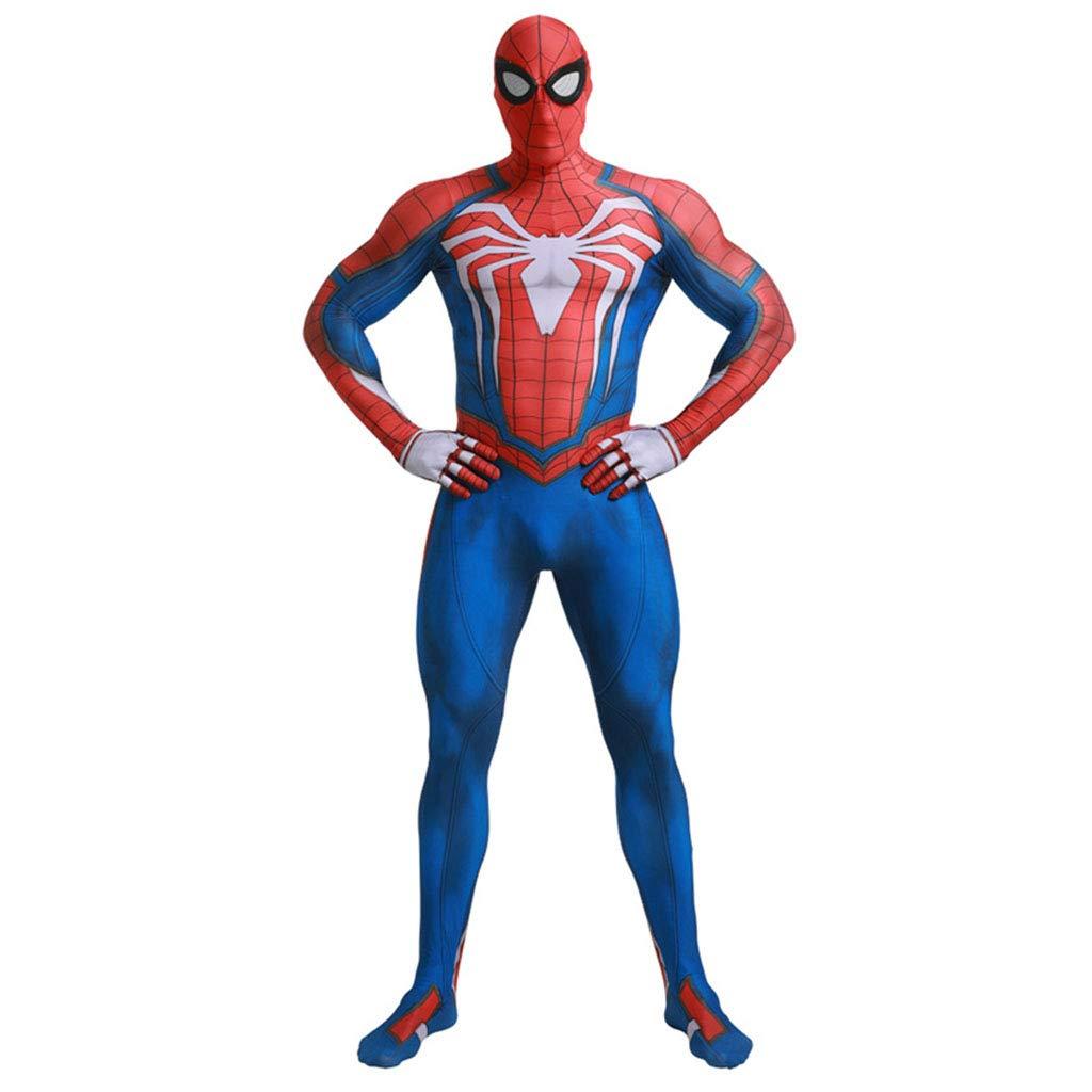 bleu XS Henxizucun Femmes Spiderhomme Cosplay Costume 3D Imprimer Complet du Corps HalFaibleeen Cosplay Combinaison Combinaison Costume pour Les Femmes HalFaibleeen Costume