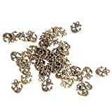 50x Ship Anchor DIY Charms Jewelry Findings Pendant Beads Crafts Bronze