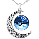 Best Necklace Animes - Pokemon Pokeball and Crescent Necklace Anime Pokemon Go Review