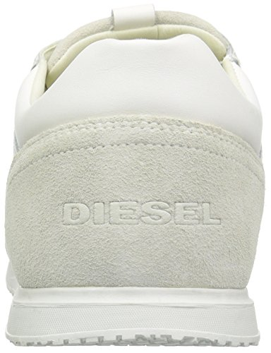 Diesel Mens Remmi-v S-svasatura Sneaker Bianco Sporco