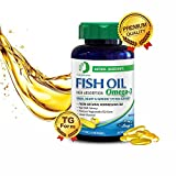 Cheap Nature Spec Fish Oil 1000mg High Absorption Supplement TG Form Omega 3, 60 Softgels, Arctic, CodMarine, Norwegian MSC, Non GMO, Lemon Flavor, High DHA, E&PA,Brain, Heart&Immune System Support