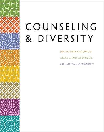 Counseling & Diversity (Methods/Practice with Diverse Populations)