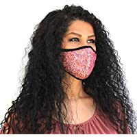 Bling Sequin Face Mask Sparkly Washable Reusable Face Mask