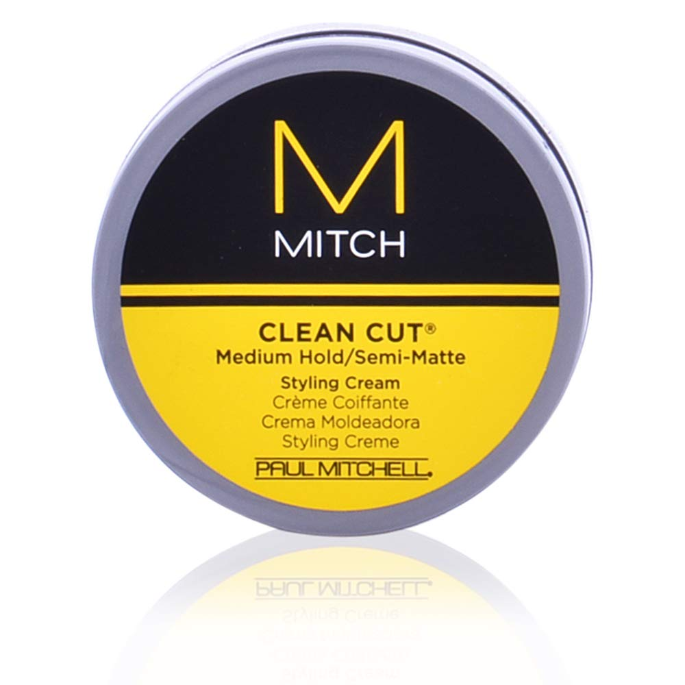 Mitch Clean Cut Medium Hold/Semi-Matte Styling Cream by Paul Mitchell for Men - 3 oz Cream 218103