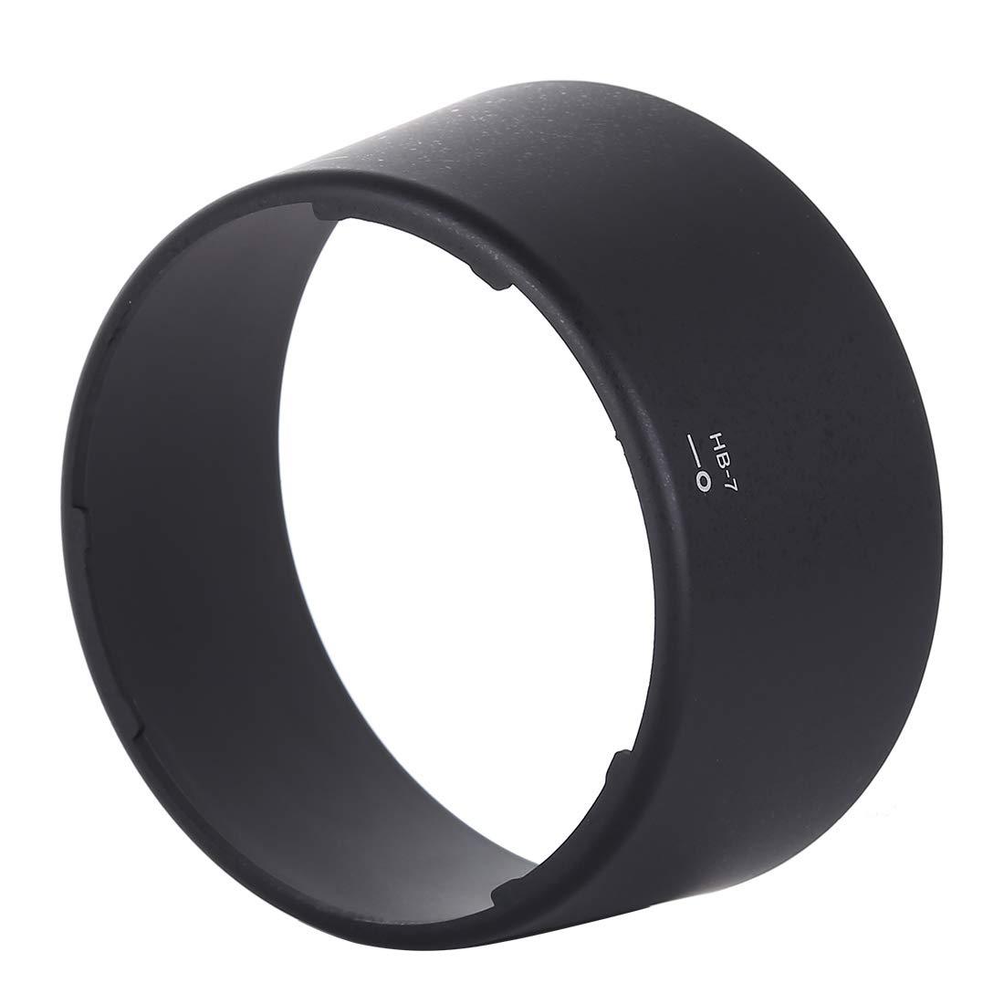 Xdashou Camera Lens Accessories HB-7 Lens Hood Shade for Nikon AF 80-200mm f//2.8D ED Lens