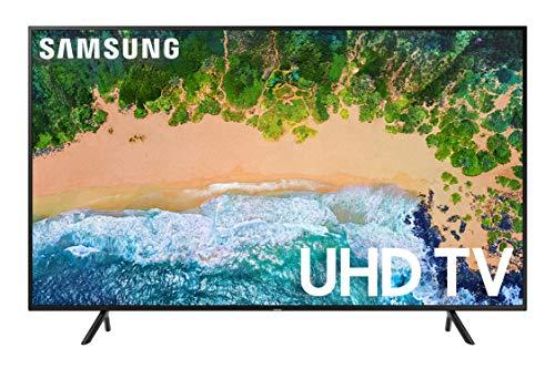 Samsung UN58NU6080FXZA Flat 58-Inch 4K UHD 6080 Series Ultra HD Smart TV (2018 Model)