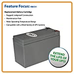 Tripp Lite RBC51 Replacement Battery Cartridge for Select Tripp Lite and Other Major UPS Brands 4 12-volt UPS replacement battery cartridge Compatible with a variety of UPS brands Restores or enhances runtimes of all UPS systems exhibiting reduced power failure runtime