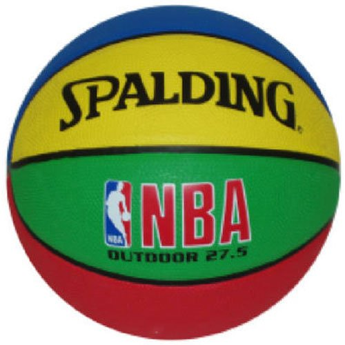 Spalding Russell 27 5 Inch Multi Color Basketball