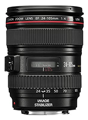 Canon EF 24-105mm f/4 L IS USM Lens for Canon EOS SLR Cameras from Canon