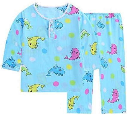 イルカリトルボーイズコットンショートパジャマ夏子供服幼児