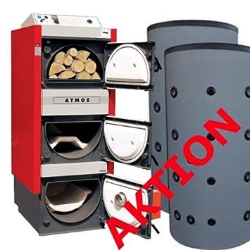 Öl Pellet Holzkessel Atmos DC 25 SP(L) 25 KW Kombikessel ohne ...