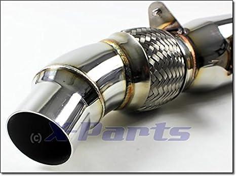 Down Pipe Cat para High Flow 76 mm 4 1026104: Amazon.es: Coche y moto