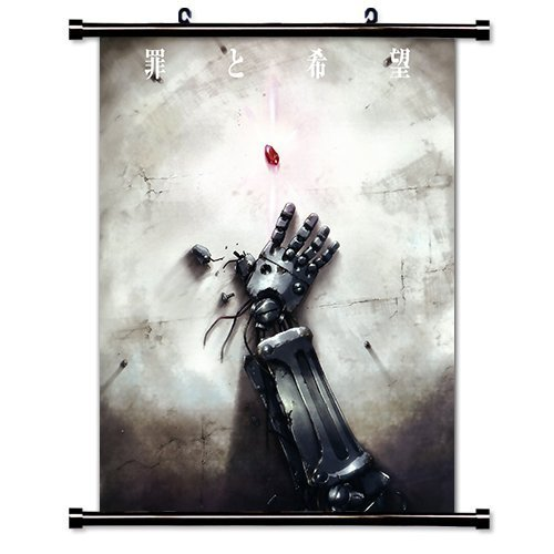 1 X Fullmetal Alchemist Anime Fabric Wall Scroll Poster  Inc