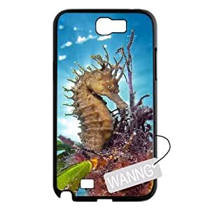 sea horses Samsung Galaxy Note2 N7100 Durable Case, sea horses Custom Case for Samsung Galaxy Note2 N7100 at WANNG