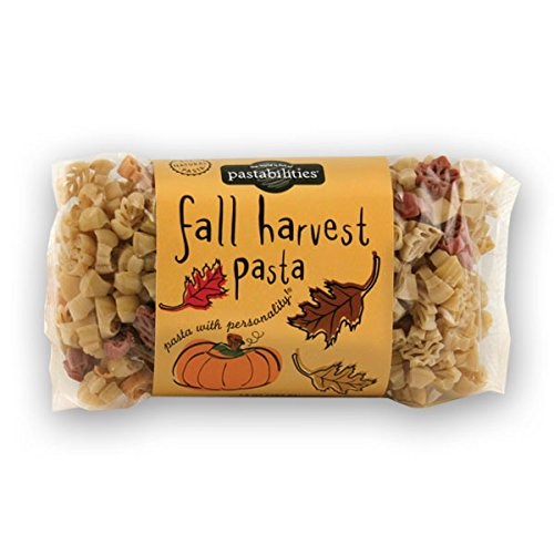 Pastabilities Fall Harvest Fun Novelty Pasta, 14 Oz. Bag, (Pack of 4)