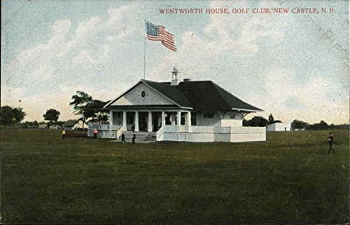 Wentworth House, Golf Club New Castle, New Hampshire Original Vintage ()
