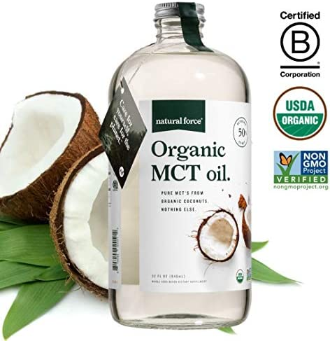 Organic Coconut Bottle Health Metabolism