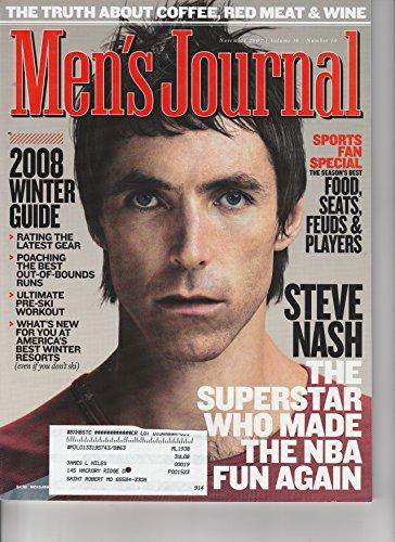 Steve Nash, Phoenix Suns-Men's Journal, November 2007 issue.