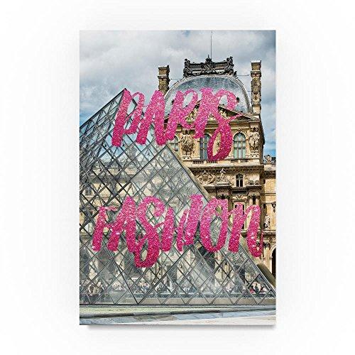 Paris Fashion The Louvre III by Philippe Hugonnard, 12x19-Inch Canvas Wall Art