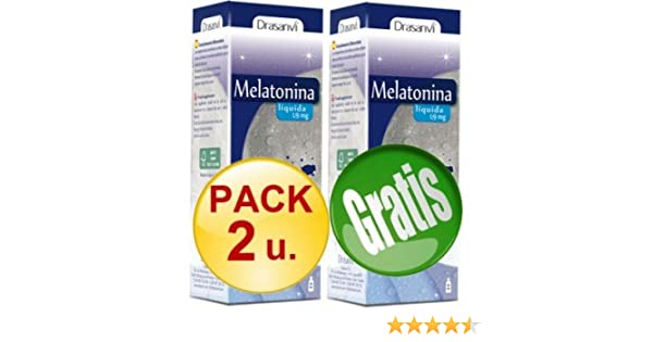 ESI - PACK 2+1 MELATONINA GOTAS 50 ML 1,9 MG LIQUIDA - pack-3-melatonina- gotas: Amazon.es: Salud y cuidado personal