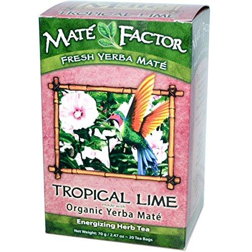 - THE MATE FACTOR Hibiscus Lime Tea 20 BG