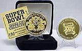 NFL Gold Super Bowl XXIV Flip Coin 24KT