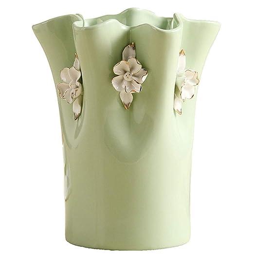 WJMLS Florero de cerámica Ideal para Regalar, centros de Mesa ...