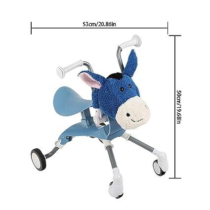 Bicicleta de Equilibrio Desmontable para Niños con Lindo Burro de ...
