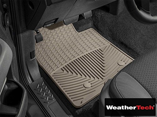 All Weather Floor Mats Tan Front   Fits Volvo C30 2007 2008 2009 2010 2011 2012 2013   07 08 09 10 11 12 13  Wea Uqm 860  Front Only