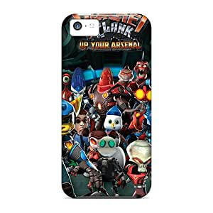 Fashion GPghVdY8499pytke Case Cover For Iphone 5c(ratchet And Clank)