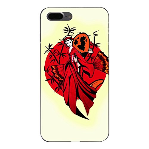 "Disagu Design Case Coque pour Apple iPhone 7 Plus Housse etui coque pochette ""Geisha"""