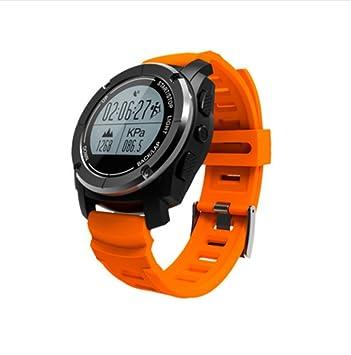 RUIX Termometro Digitale Reloj De Ritmo Cardíaco De Funcionamiento De GPS, Pulsera De Montañismo De