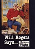 Will Rogers Says, Roger Taylor, 0878336753