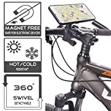 TFY Bicycle Handlebar Mount for Smartphone, MP4, GPS Navigators -  iPhone 6/6S / iPhone 6/6S Plus - Samsung Galaxy S4 (I9500) / S5 (G900) - Samsung Galaxy Grand Max / Prime - Samsung Galaxy A3 / A5 / A7 - HTC One - Sony Xperia C3 - Nexus 5 / 6 and More