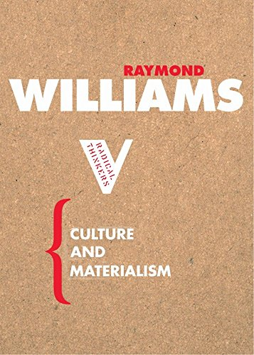 [Best] Culture and Materialism (Radical Thinkers)<br />PPT