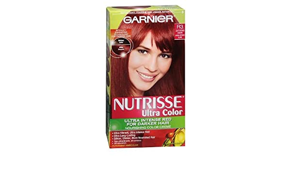 Amazoncom Garnier Nutrisse Ultra Color Ultra Intense Red For
