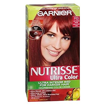 Amazoncom Garnier Nutrisse Ultra Color Ultra Intense Red For
