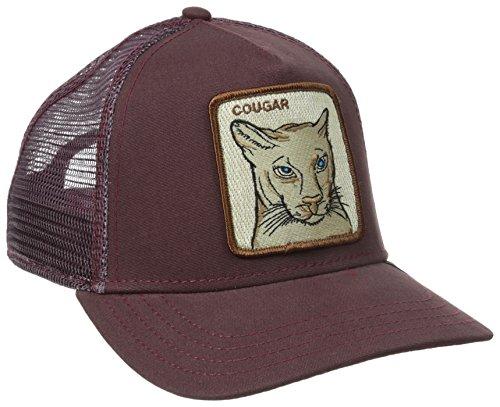 Gorra trucker granate puma Cougar de Goorin Bros. Marrón