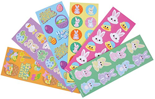 Classic Halloween Characters (100 Stickers Assortment Easter Holiday Classic Character Sheets)