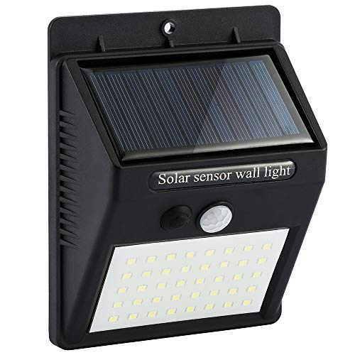 Wall Mounted Motion Detector Solar Led Lamp