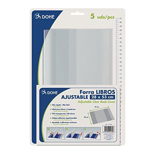 51 7Ol3%2BBEL. SS500 Haz clic aquí para comprobar si este producto es compatible con tu modelo Cubiertas protectoras de libros y cuadernos Fabricadas en PVC de 120 micras