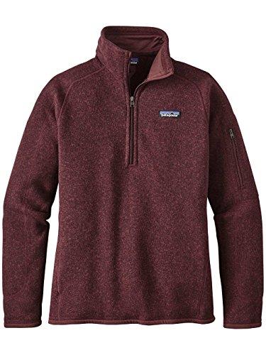 Patagonia Women's Better Sweater 1/4-Zip Fleece (Small, Dark Ruby) ()