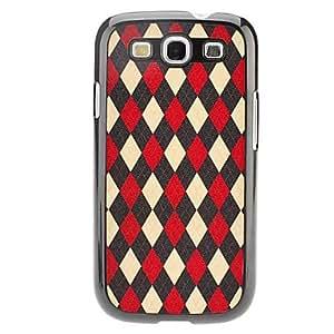Grid Pattern Hard Case for Samsung Galaxy S3 I9300