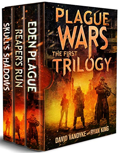 From Hugo and Dragon Award finalist and Amazon bestselling author David VanDyke, and Ryan King--the first three books of the acclaimed Plague Wars apocalyptic series in one big volume!When the Eden Plague is loosed upon the world, the forces of order...