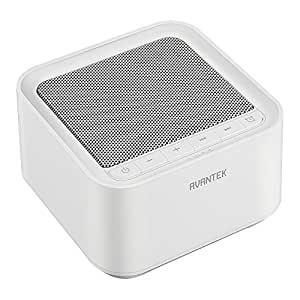 avantek white noise sound machine 20 non looping soothing sounds for better sleep. Black Bedroom Furniture Sets. Home Design Ideas